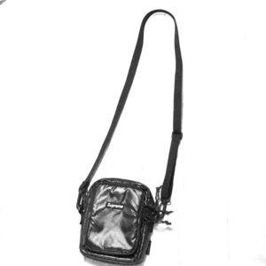 Supreme Jet Black Side Bag